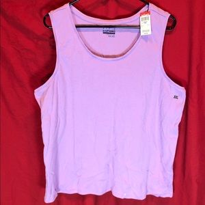 Basic Edition Pink/Purple Tank Top Shirt